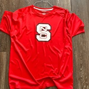 Champion NC State Wolfpack Red Shirt Men's XL